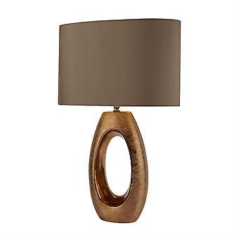 Searchlight Artisan 1 Light Table Lamp Bronze, Brown 1213BZ