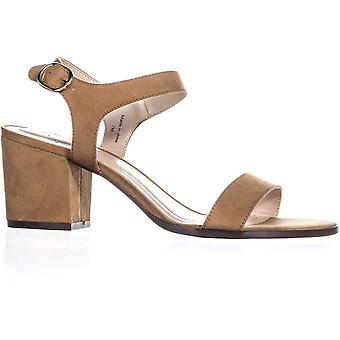 Style & Co. Womens Mollee Leather Peep Toe Casual Slingback Sandals