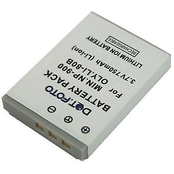 Dot.Foto Minolta NP-900 sostituzione batteria - 3.7 v / 750mAh - Minolta DiMAGE E40 E50
