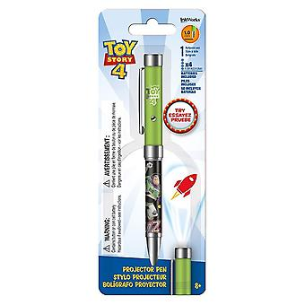 Projector Pen - Toy Story 4 - Flashlight 1.0mm Ballpoint New iw4213