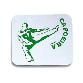 Tappetino mouse pad bianco wtc1107 capoeira
