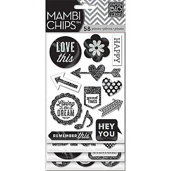 Ich & Meine großen Ideen Chipboard Value Pack-Hey You, 63/Pkg