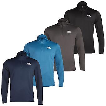 Skechers Golf Mens Momentum 1/4 Zip Atlético Performance Pullover Sweater