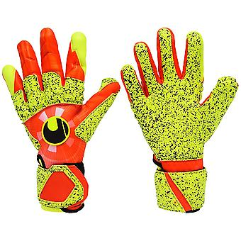 UHLSPORT DYNAMIC IMPULSE SUPERGRIP REFLEX  Goalkeeper Gloves Size