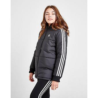 New adidas Originals Girls' Boxy Padded Jacket Black