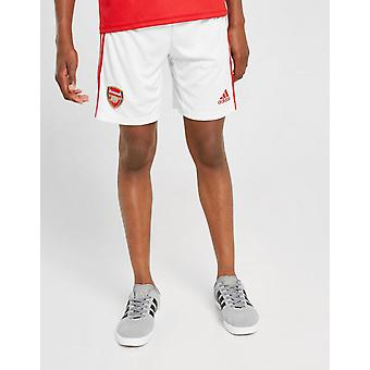 New adidas Boys' Arsenal FC 2019/20 Home Shorts White