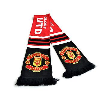 Manchester United FC Glory Jacquard Knit Scarf