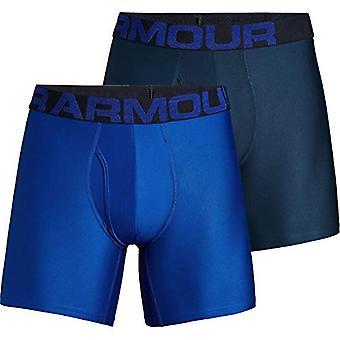 Under Armour Tech 6IN undertøj-2-Pak-mænd ' s, Royal/Academy, size xxx-stor