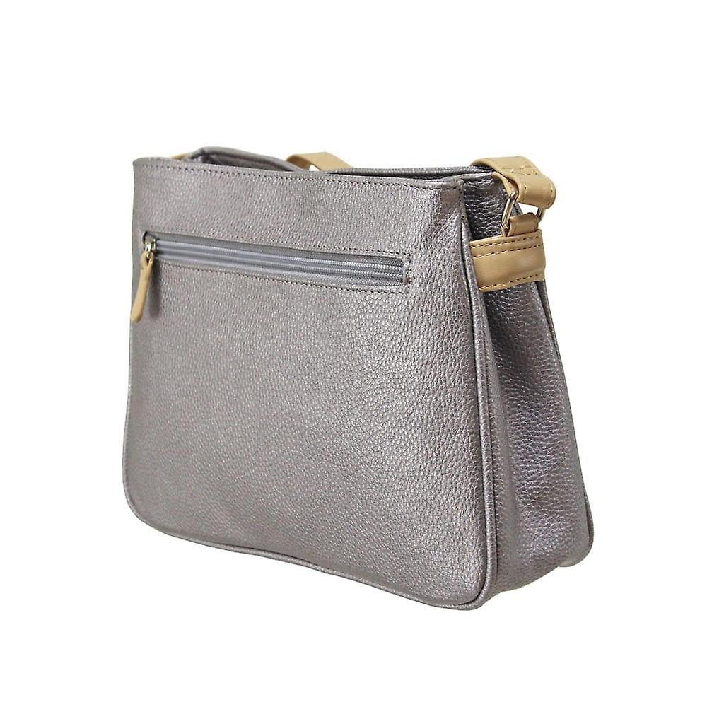 Envy Bags Metallic Classic Zip Top - Lilac