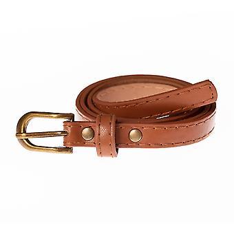 13 milímetros Mulheres Brown Cinto de Cintura