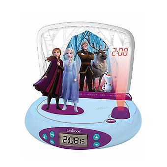 Disney Frozen 2 Radio Wecker Projektor