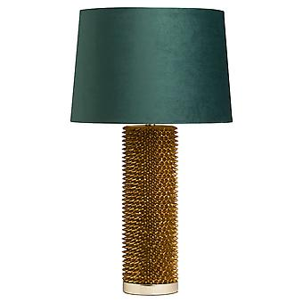 Hill Interiors Acantho Table Lamp With Velvet Shade