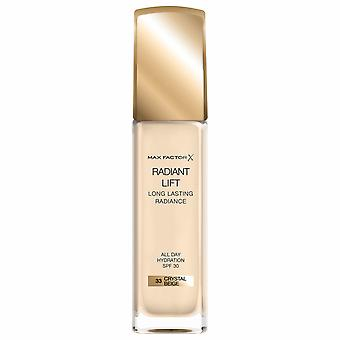 Max Factor Radiant Lift Foundation 30ml - 33 Crystal Beige