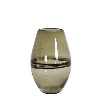 Light & Living Vase 17.5x26cm Paradela Glass Brown