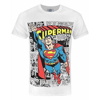 Superman Comic Men's Camiseta