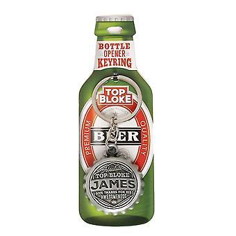 History & Heraldry Keyring - James Bottle Opener