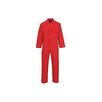 Portwest bizweld workwear flame retardant coverall biz1