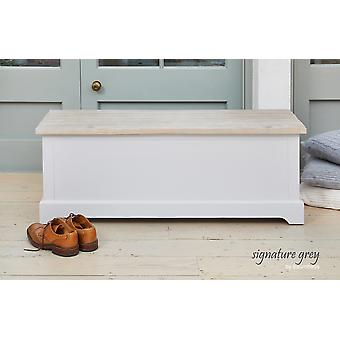 Signature Hallway Storage Bench Grey-Baumhaus
