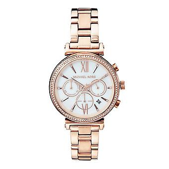 Michael Kors Watches Mk6576 Sofie Rose Gold Stainless Steel Womens Watch