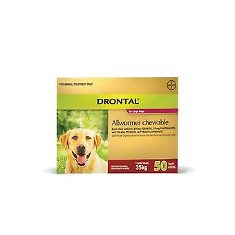 Drontal Chewable 35kg 50 pack