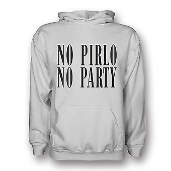 No Pirlo No Party Hoody (white) - Kids