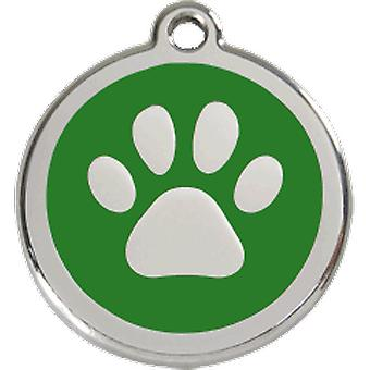 Red Dingo Dog indentidad plattan S Green Footprint