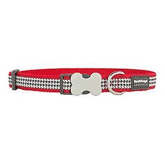 Red Dingo Collar para Perros Fang it Rojo M