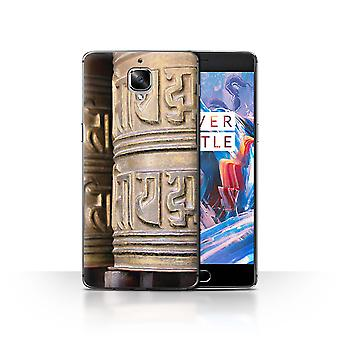 STUFF4 Case/Cover for OnePlus 3/3T/Prayer Wheel/Inner Peace