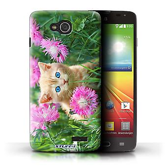 STUFF4 Case/Cover for LG L90 Dual/D410/Garden/Cute Kittens