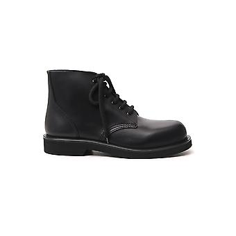 Marni Tcmr001902p325000n99 Men's Black Leather Ankle Boots