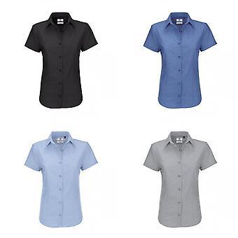 B&C Ladies Oxford Short Sleeve Shirt / Ladies Shirts