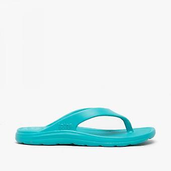 Totes Sol Bounce 0350 Ladies Everywear Flip Flops Splash Turquoise