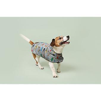 Cath Kidston Dog Rain Mac with Fleece Inner and Leather Label