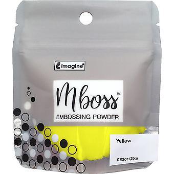 Imagine Mboss Embossing Powder - Yellow