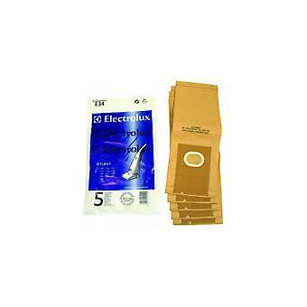 Electrolux Staubsauger Cleaner Papiertüte - Packung von 5 (E34)