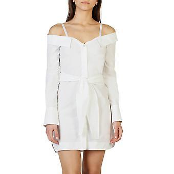 Pinko Original Frauen ganzjährig Kleid - weiße Farbe 31019