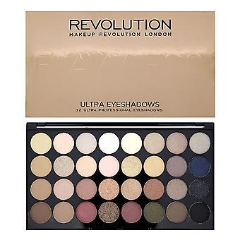 Makeup Revolution Ultra 32 Shade Eyeshadow Palette - Flawless