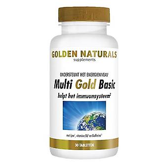 Golden Naturals Multi Gold Basic (30 vegetarian tablets)
