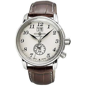 Zeppelin Graf Zeppelin Men Brown Quartz 7644-5 Watch