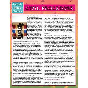 Civil Procedure Speedy Study Guides by Publishing LLC & Speedy