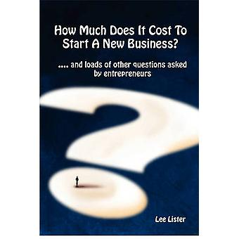 How Much Does It Cost To Start A New Business by Lister & Lee