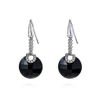 Ladies'Earrings Viceroy 1042E000-95 Black (4 Cm)