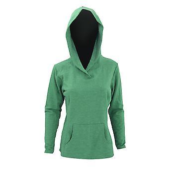 Anvil Womens/Ladies Hooded French Terry Sweatshirt / Hoodie