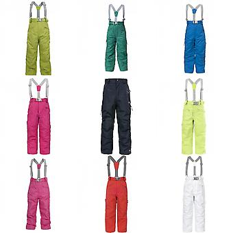 Trespass Kids Unisex Marvelous Ski Pants With Detachable Braces