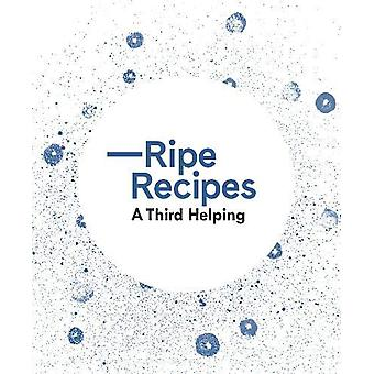 Ripe Recipes A Third Helping by A. Redfern - 9780994138347 Book