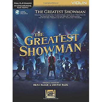 Instrumental Play-Along - The Greatest Showman - Violin (Book/Online A