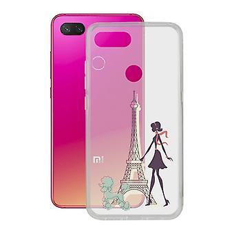 Mobile cover Xiaomi Mi 8 Lite Contact Flex France TPU