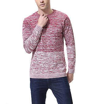 Cloudstyle Mens Causal Kintted Sweaters Round Neck
