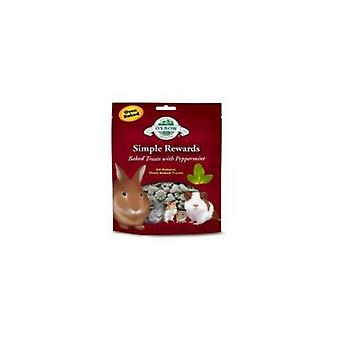 Oxbow Simple Rewards Peppermint Baked Small Pet Treats
