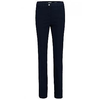 Olsen  Mona Navy Slim Leg Jeans